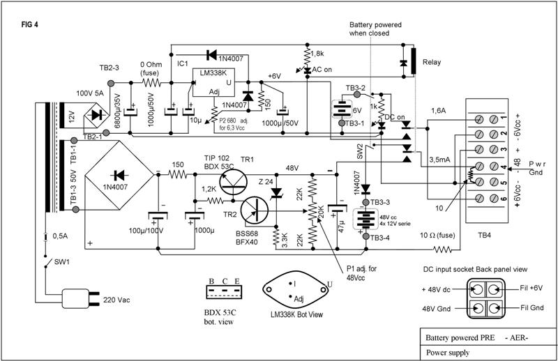 michele  battery operated vacuum tube mc pre